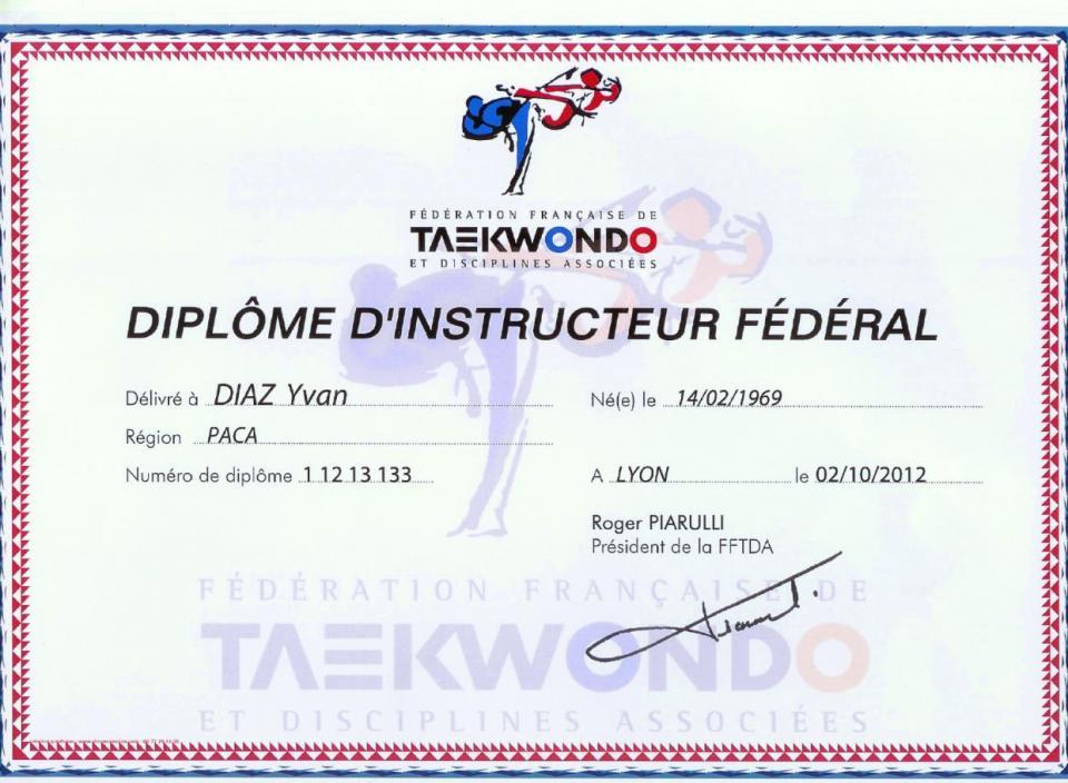 Diplome dif 1
